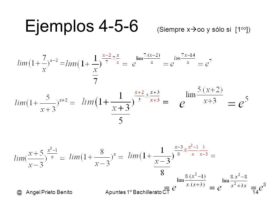 Ejemplos 4-5-6 (Siempre xoo y sólo si [1oo])